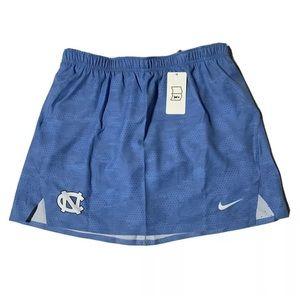 Nike North Carolina UNC Lacrosse Skort Skirt M